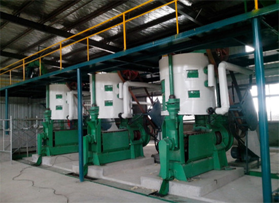 Sunflower oil pretreatment & pre-pressing machine