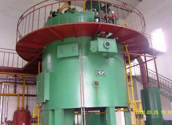Corn germ oil solvent extraction plant