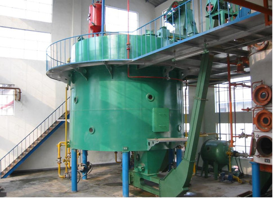 Sesame oil solvent extraction plant