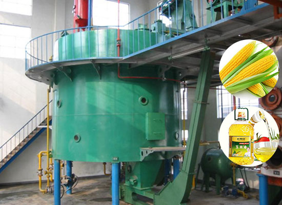 Corn germ oil mill plant
