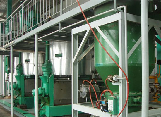 Complete set of sunflower oil making machine