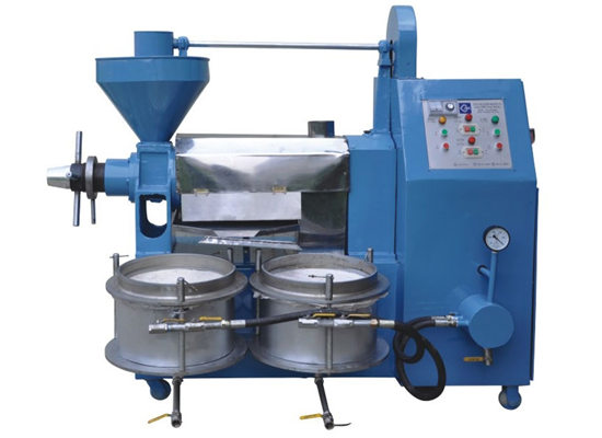 Integrated cottonseed oil press machine with filter