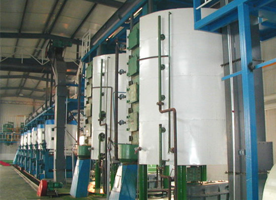 Peanut oil pretreatment & pre-pressing machine