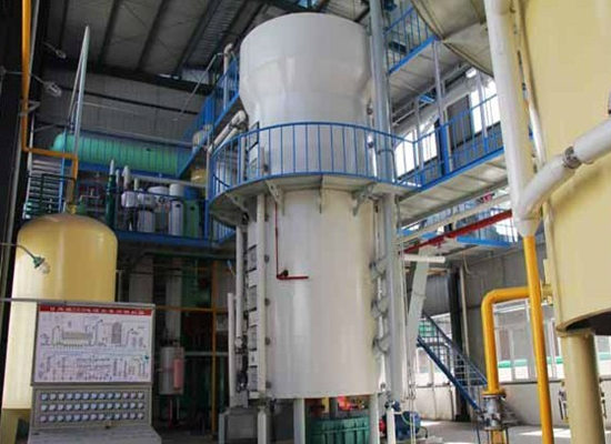 Rapeseed oil solvent extraction plant