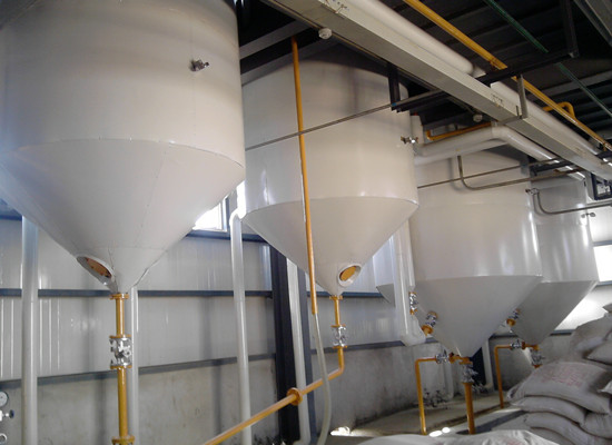 1-5tpd peanut oil refining machine