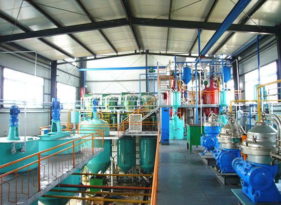 20tpd peanut oil refining machine