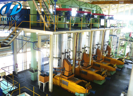 1-120tph palm oil mill plant