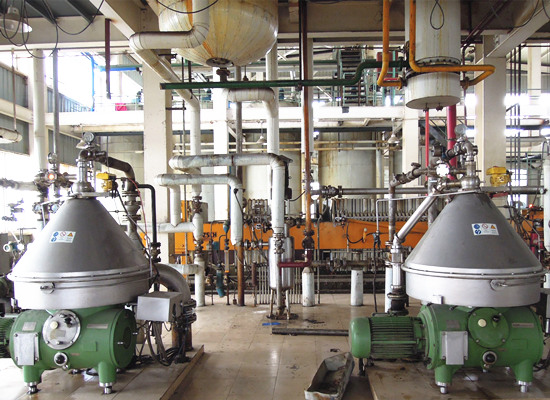 Fully automatic continuous soybean oil refining machine