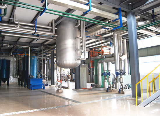 Batch type peanut oil refinery plant and continuous peanut oil refinery plant