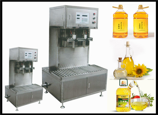 Edible oil filling machine for edible oil extraction machine
