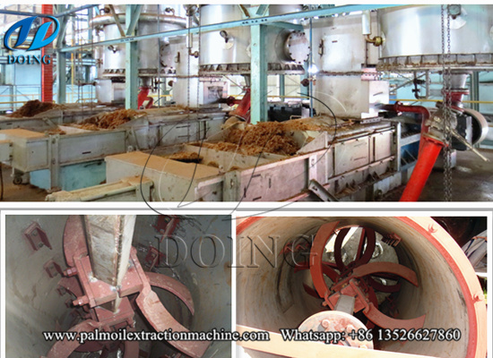 Palm fruit digesting machine , palm oil digesting machine