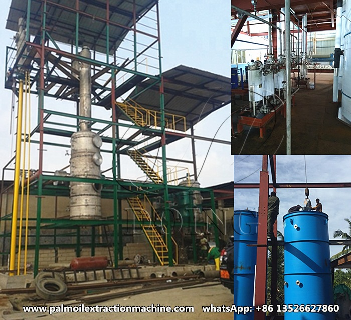 palm oil refinery anf fractionation plant