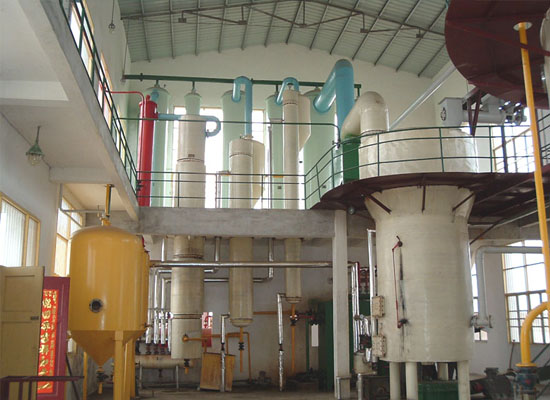 cottonseed solvent extraction machine