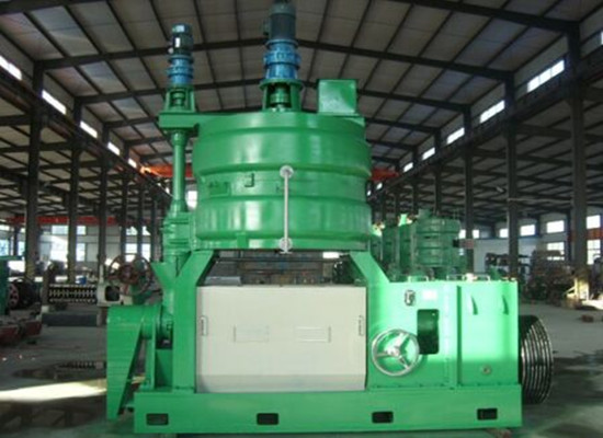 Rapeseed pretreatment prepressing extraction machine