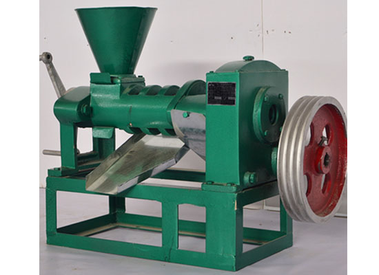Cottonseed screw oil press machine