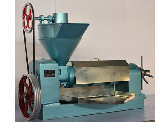 cottonseed screw oil extraction machine