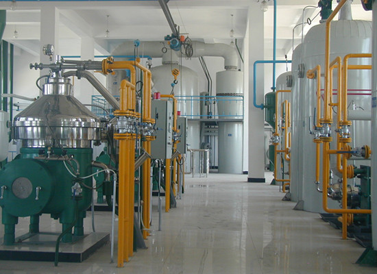 rapeseed oil continuous refinery plant