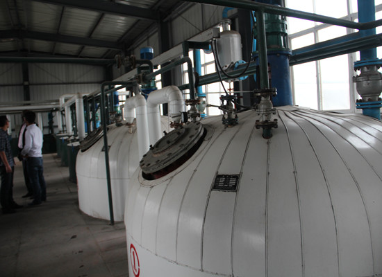 Cottonseed oil refinery plant
