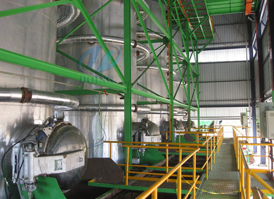 Complete set of palm oil making machine