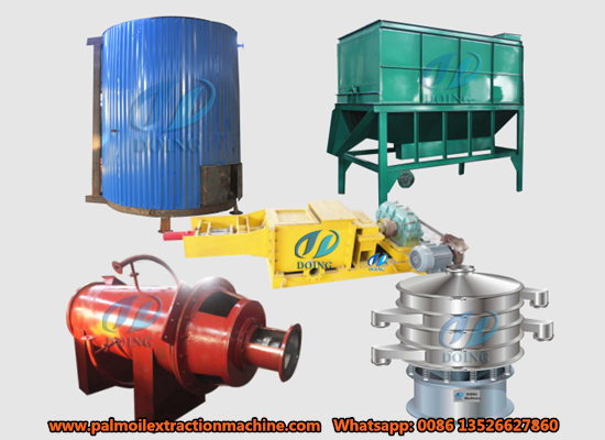 1-5tph small scale palm oil mill machinery video
