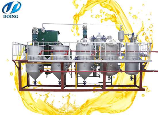 1-10tpd batch type peanut oil refining machine