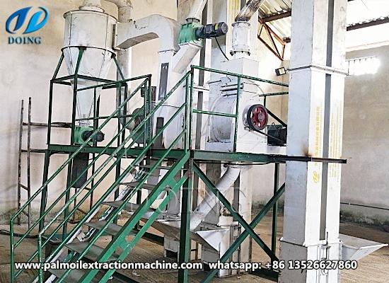 Small scale palm nut kernel cracker and separator machine successfully installed in Akwa, Ibom, Nigeria