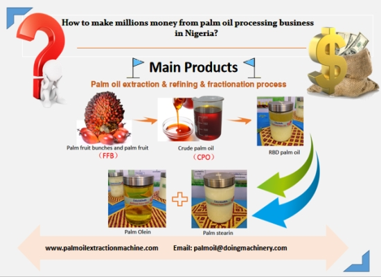 How to make millions money from palm oil processing business in Nigeria?