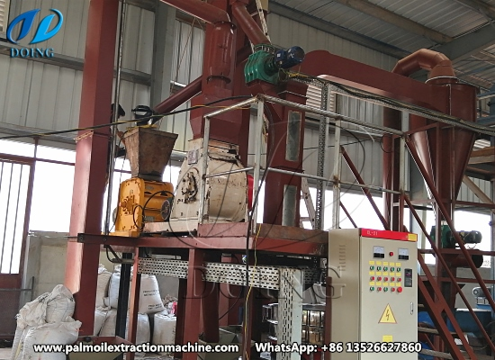 Small scale palm kernel cracking and separating machine project in Sierra Leone