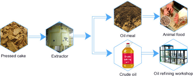 sunflower oil solvent extraction process