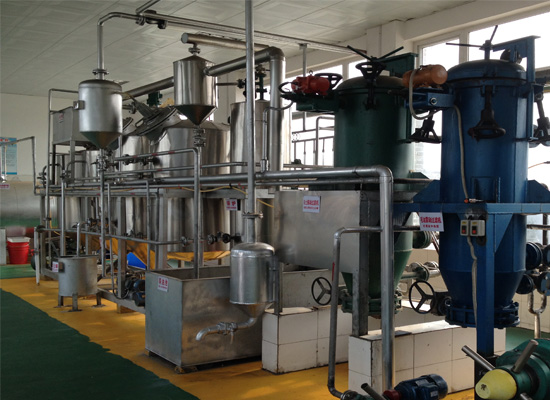 Soybean oil refinery machine
