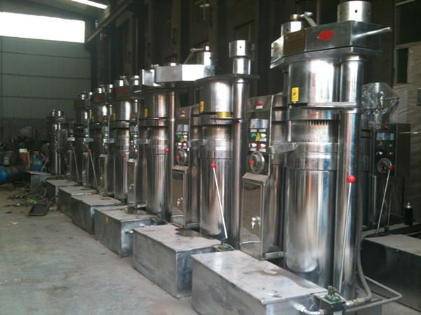 hydraulic sesame oil press machine