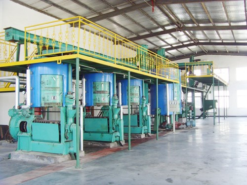 rice bran pressing machine
