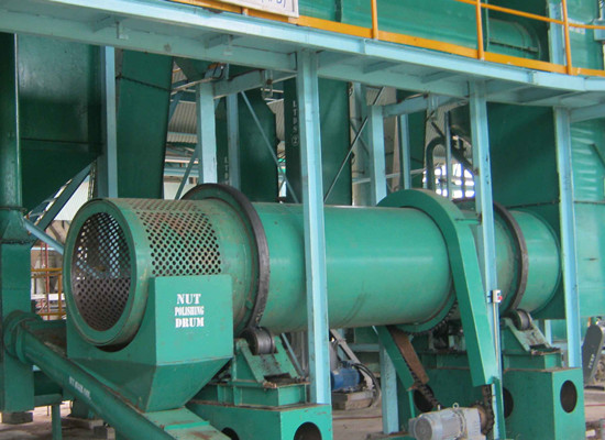 palm kernel and fiber separating machine
