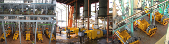 palm oil digesting & pressing machine