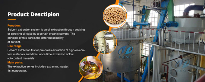 peanut cake solvent extraction machine