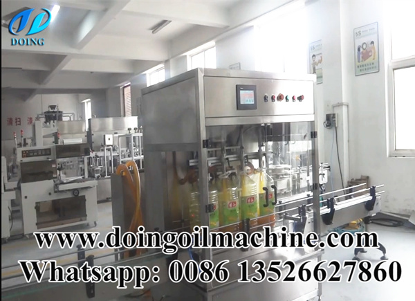 peanut oil filling machine