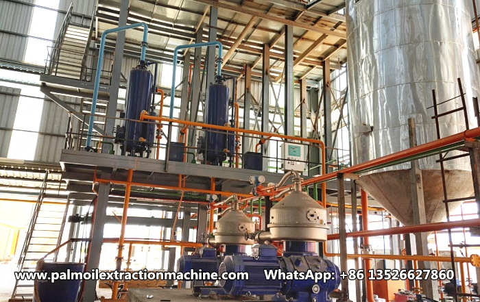 palm oil filtration machine